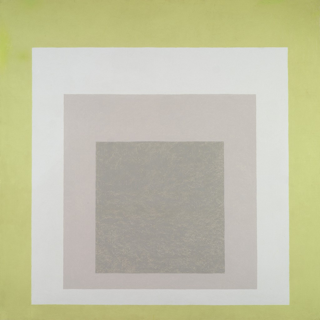Josef Albers, Tomb and Foliage – Hommage to the Square, 1965