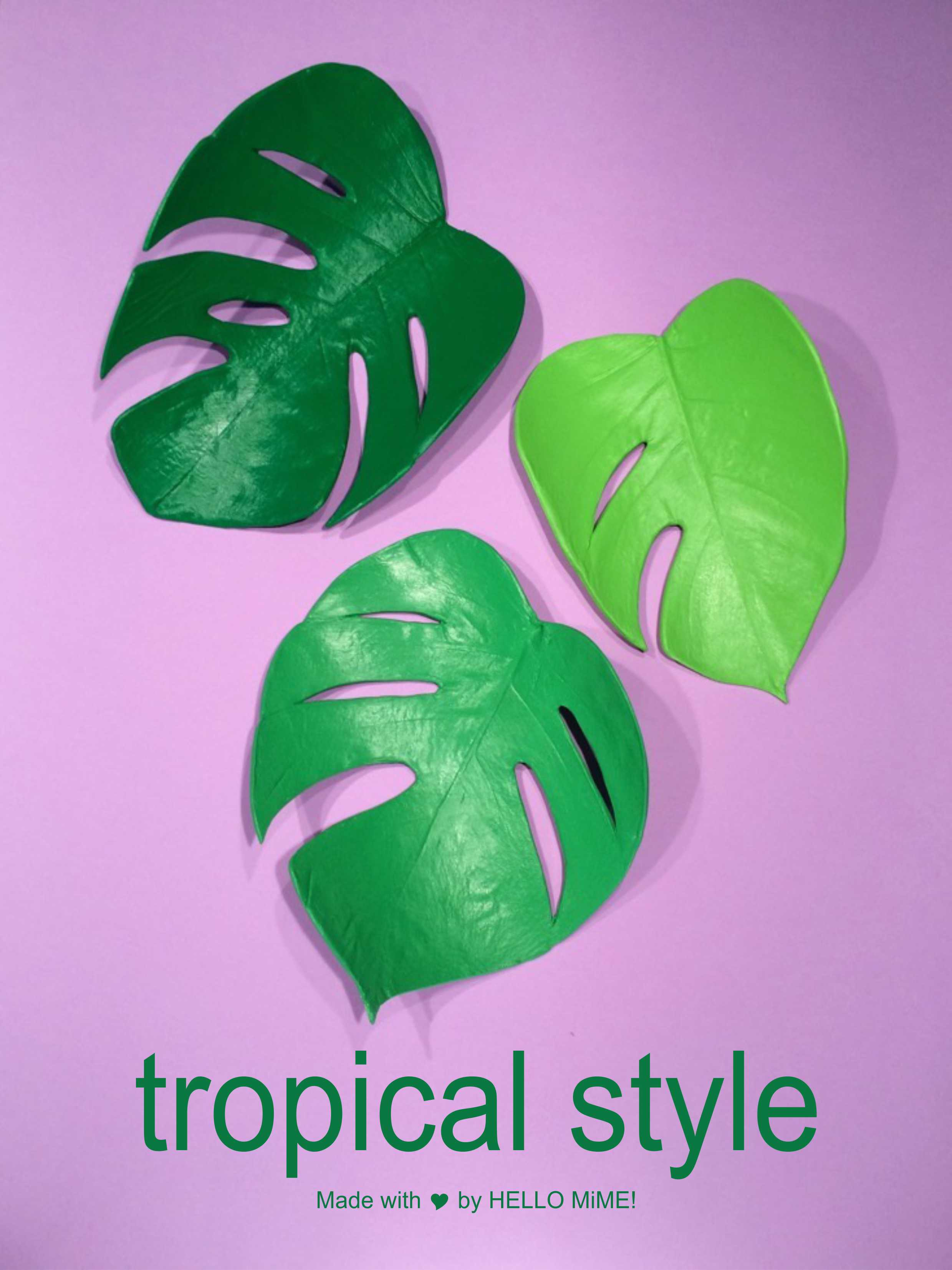 tropical style decoration