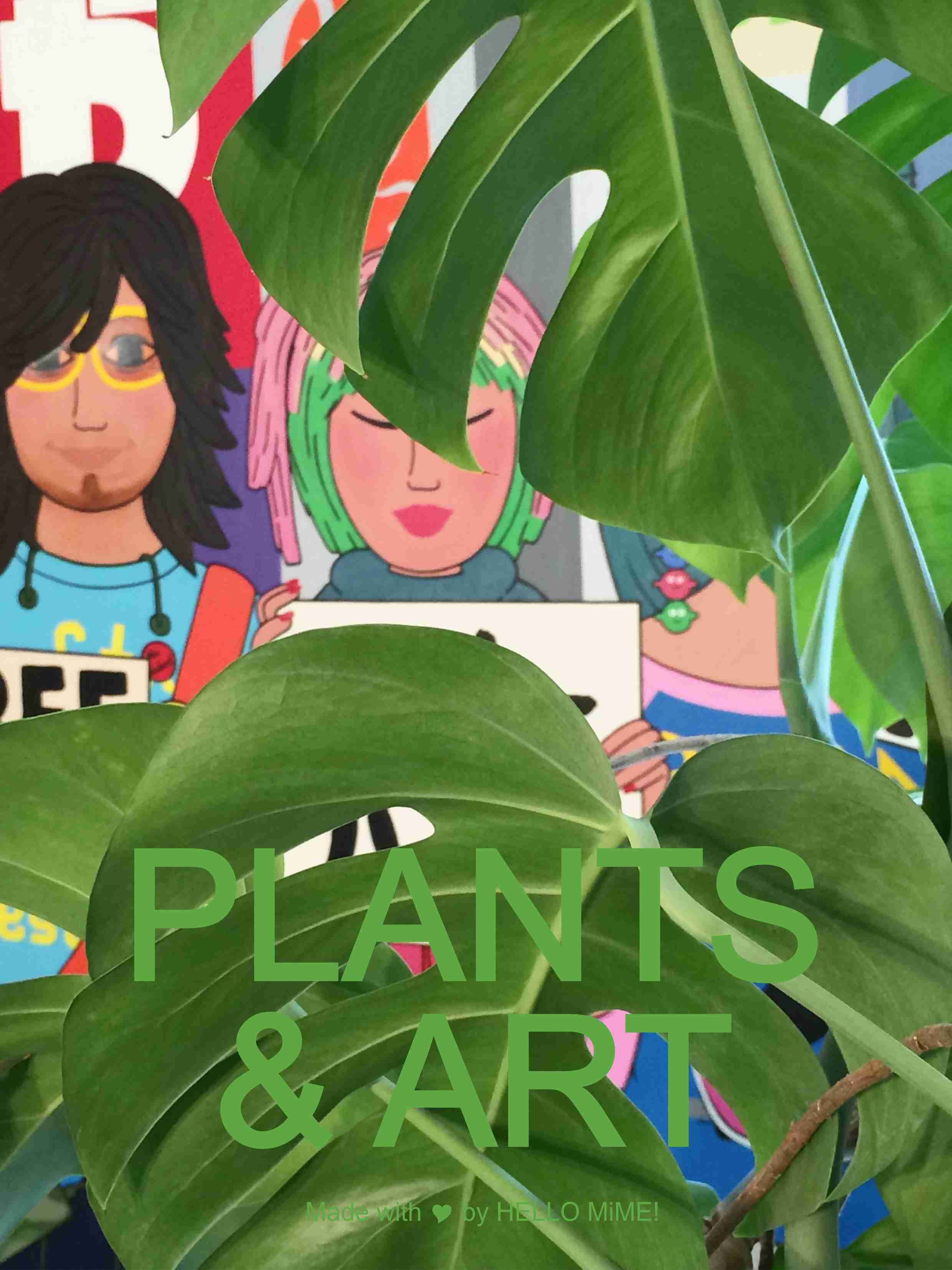 plants and art17
