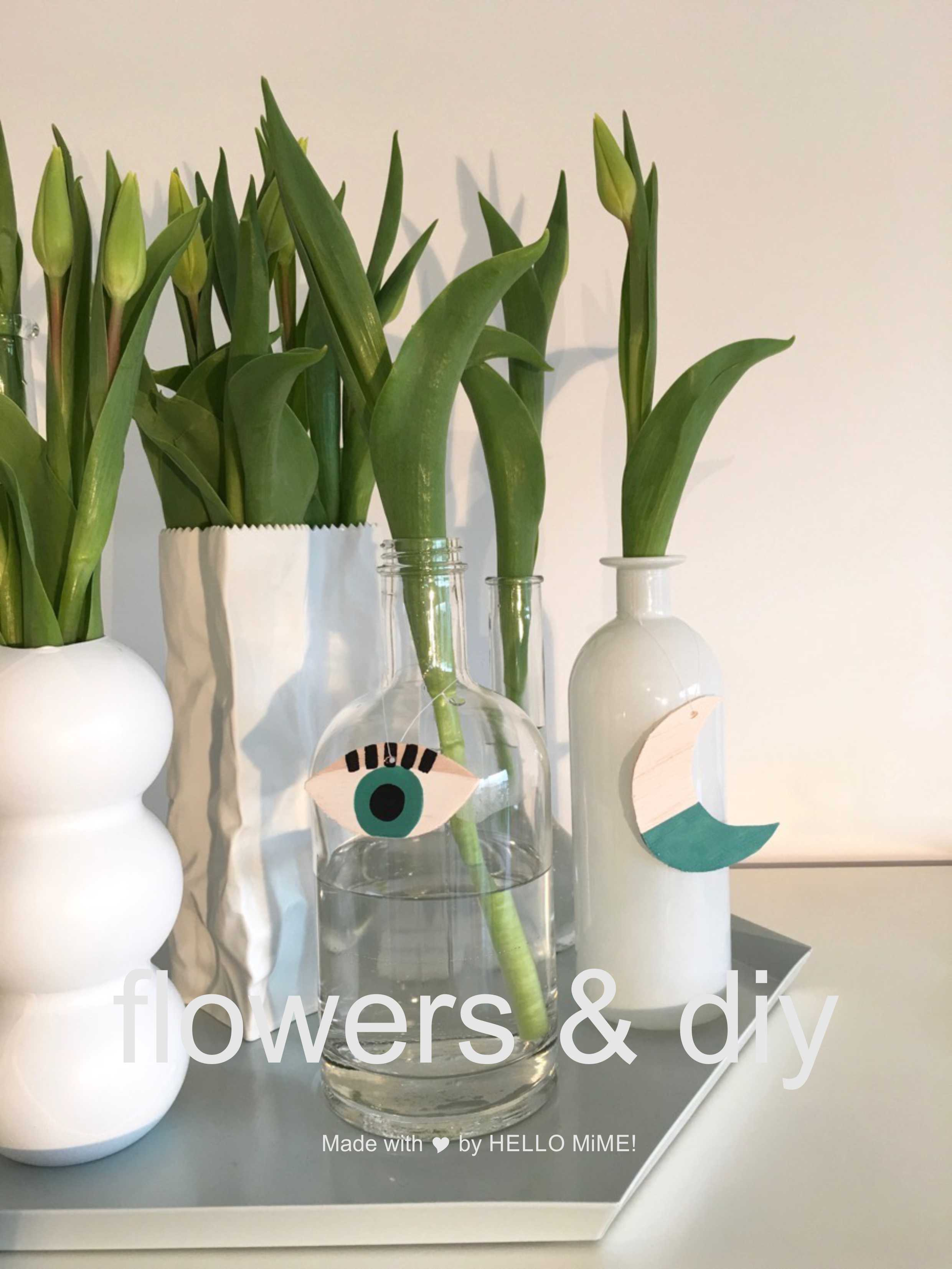 flowers and diy